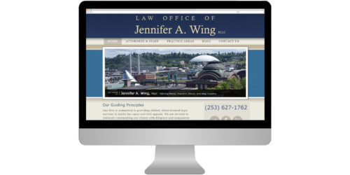 Law Offices of Jennifer A. Wing, PLLC Launches New Website